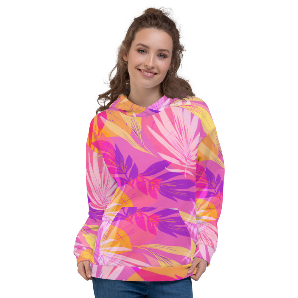 Stylish Full Printed Unisex Hoodie
