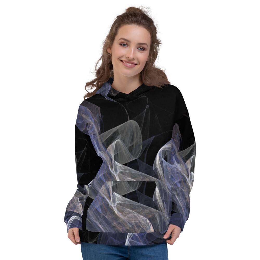 Smoky Full Printed Pullover Unisex Hoodie