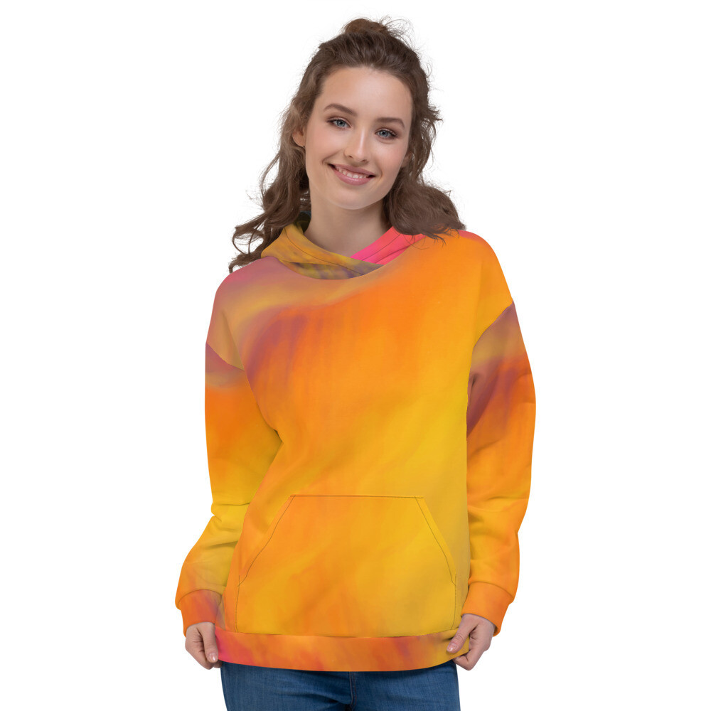 Painter Brush Pullover Unisex Hoodie