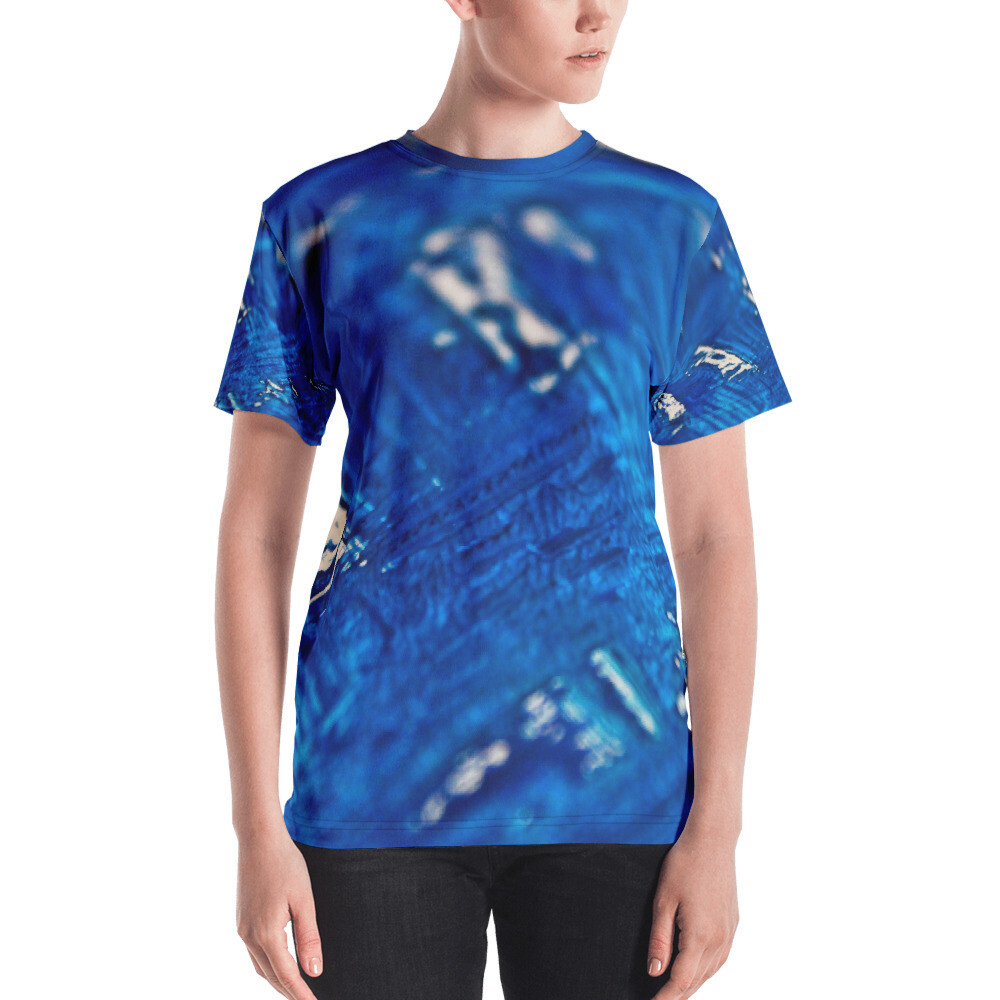 Brush Blue Women's T-shirt