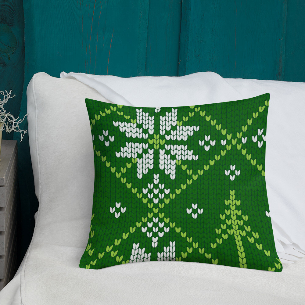 Emb- Christmas Throw Pillow