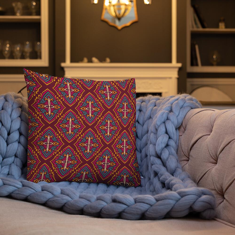 Tuna Premium Throw Pillow