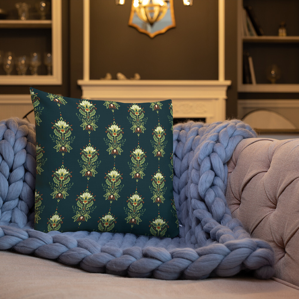 Juni Premium Throw Pillow