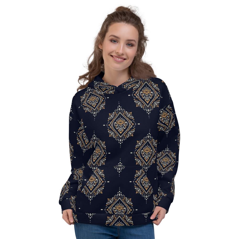 Mircha Printed Pullover Unisex Hoodie