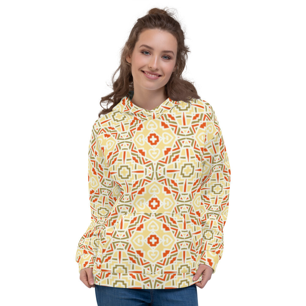 Rishta Pullover Printed Unisex Hoodie
