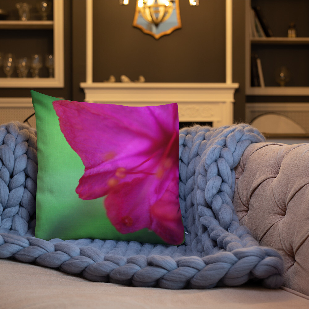 Risa Printed Throw Premium Pillow