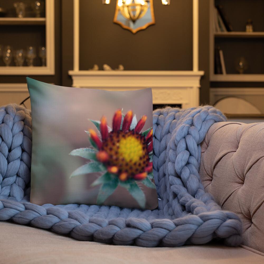 Miss Printed Throw Premium Pillow