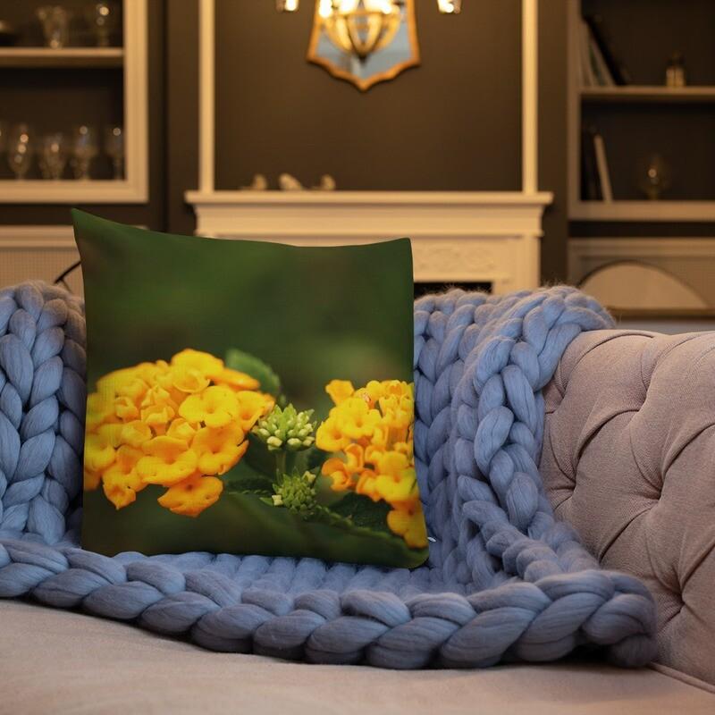 Toro Printed Throw Premium Pillow