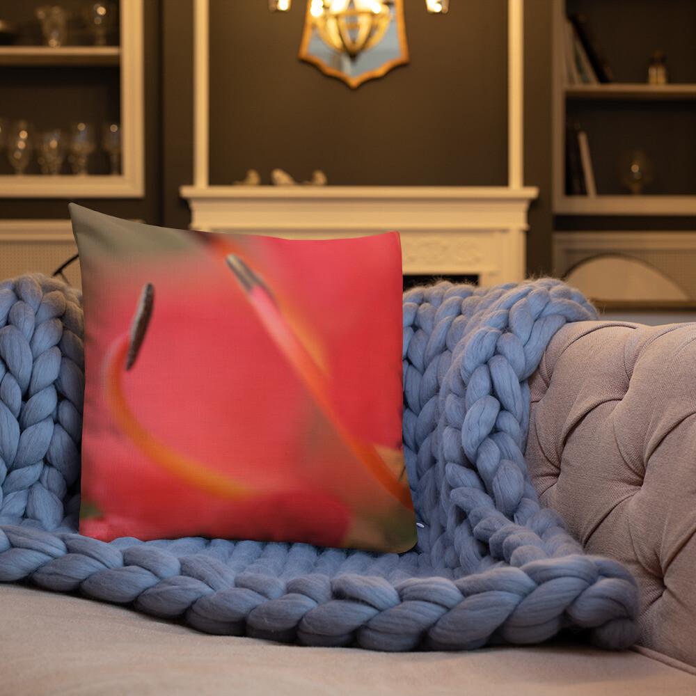 Lisa Printed Throw Premium Pillow