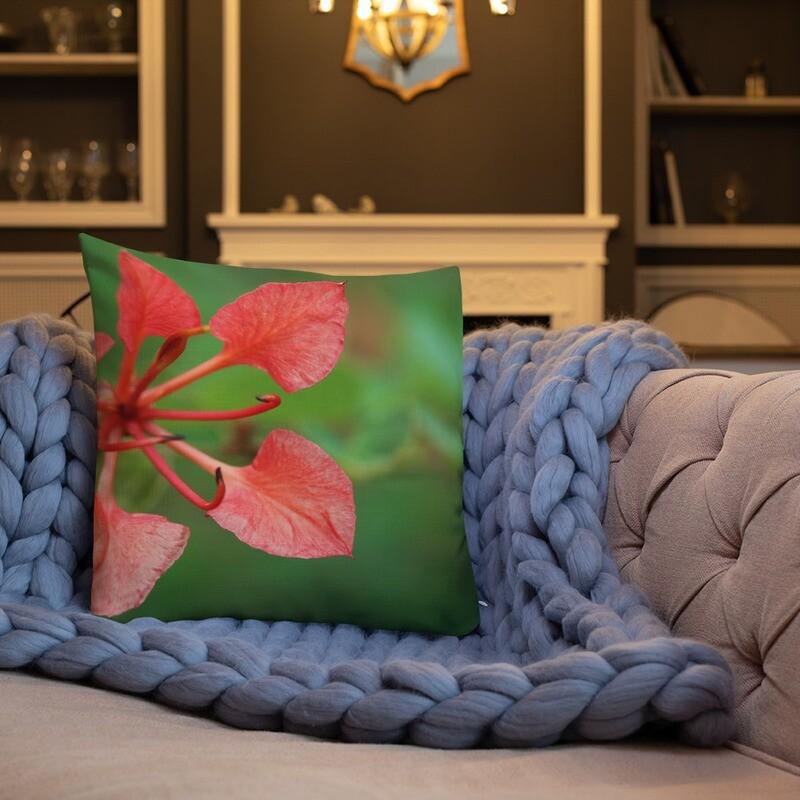 Pota Printed Throw Premium Pillow