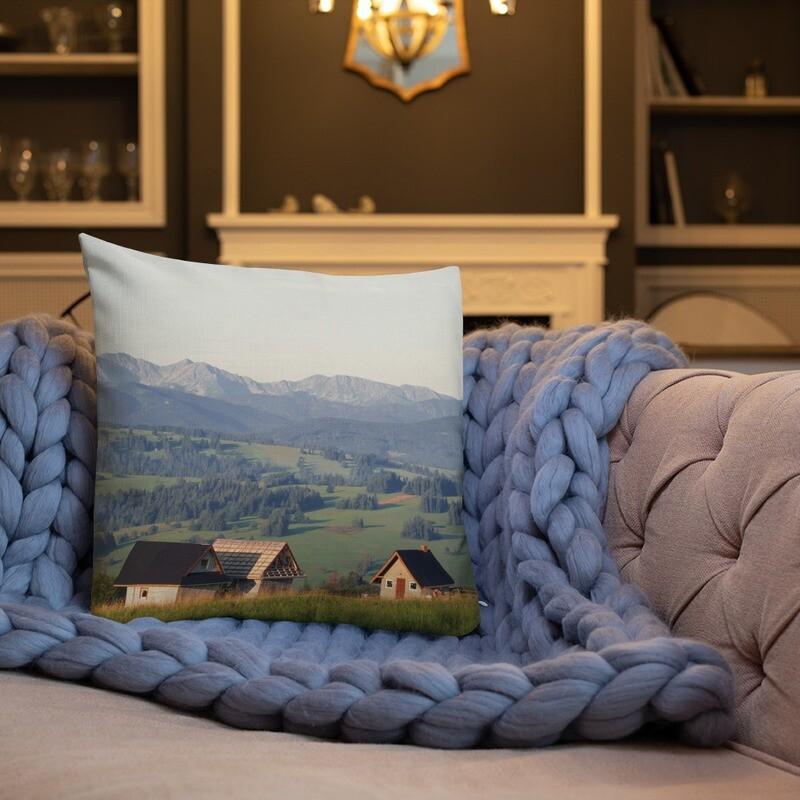 Syn Printed Throw Premium Pillow
