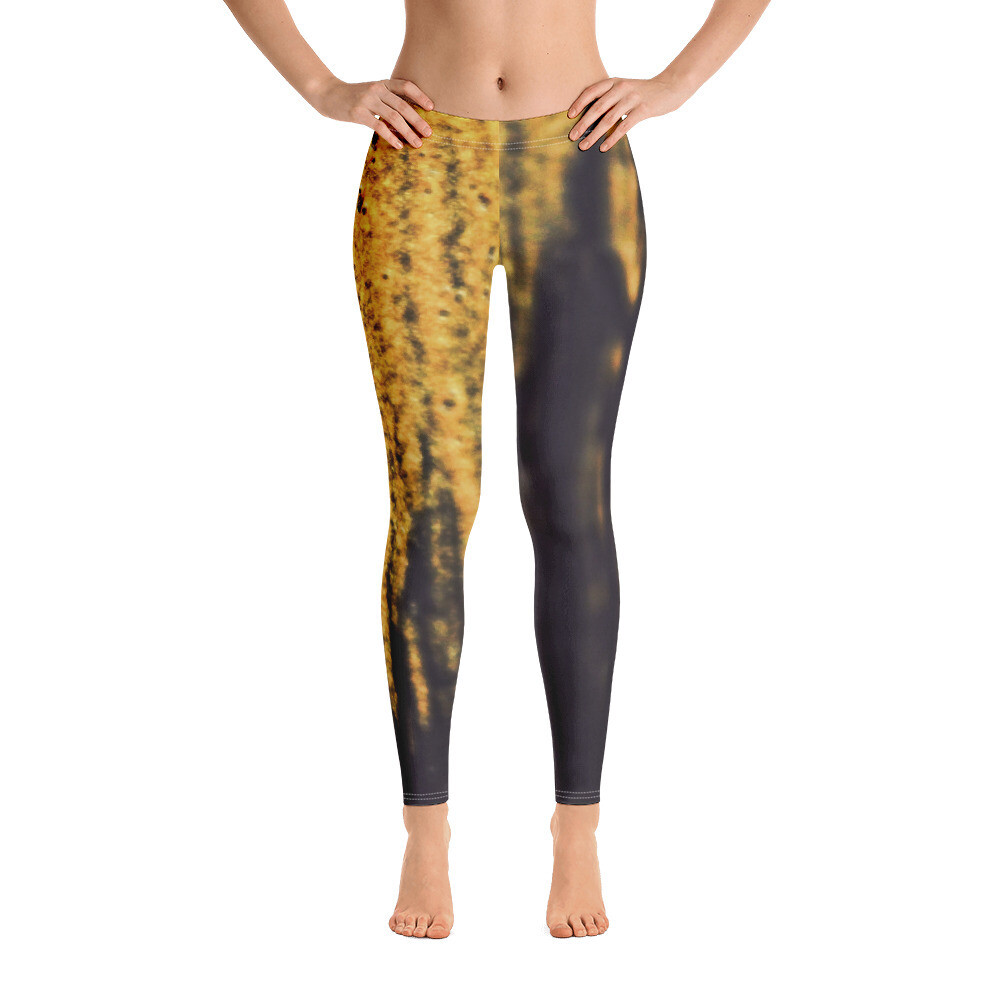Gold Dust Full Printed Leggings for Women