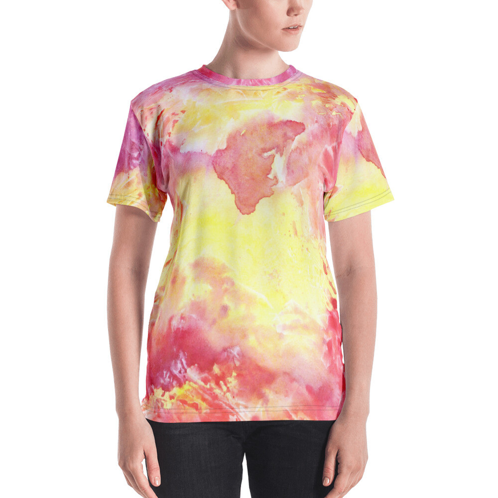 Wati Full Printed Women's T-shirt
