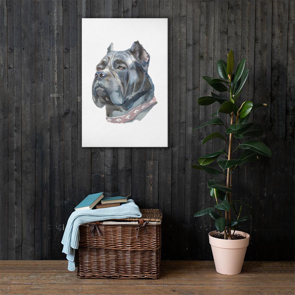 Dog 2 Full Printed Canvas
