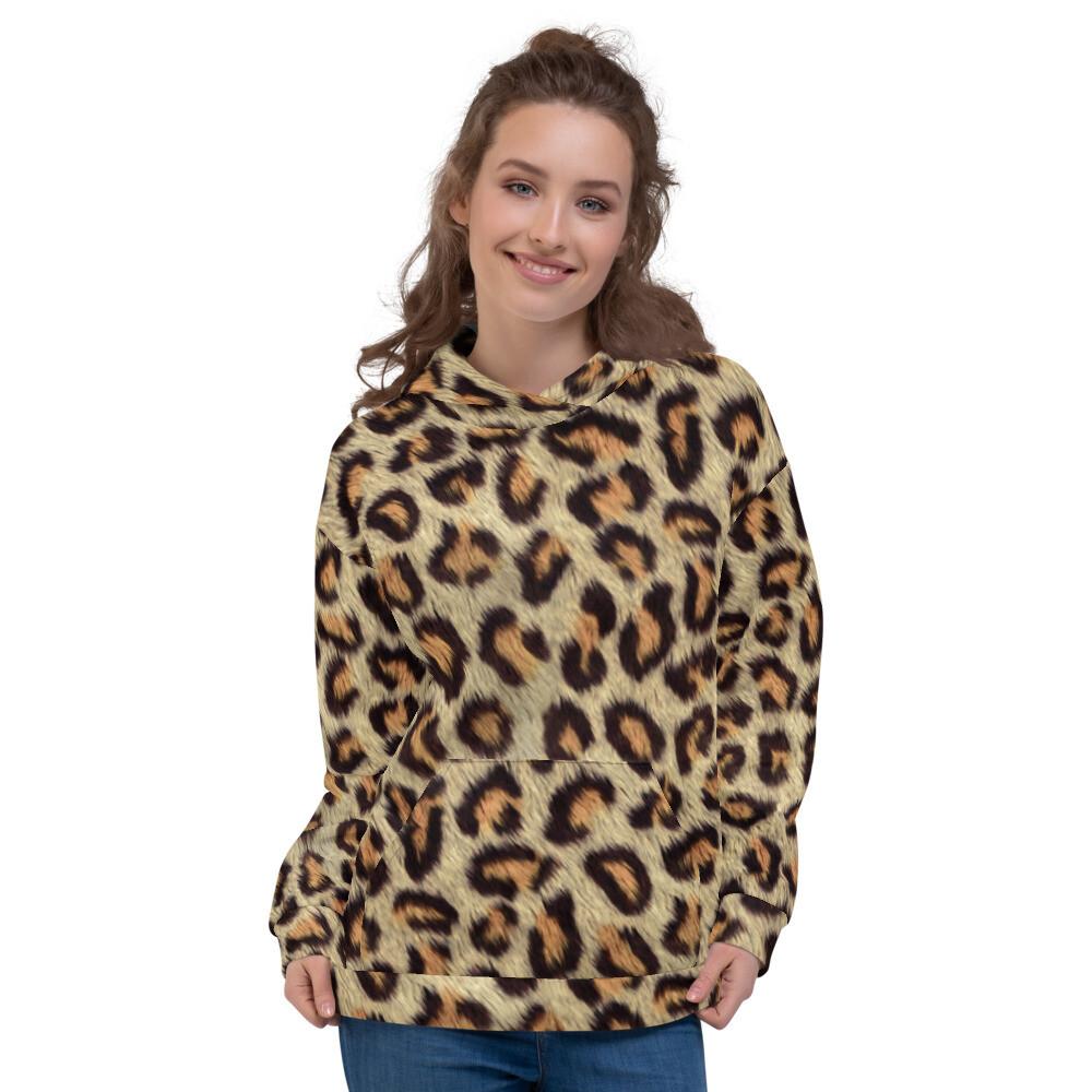 Cheetah2 Skin Full Printed Unisex Hoodie