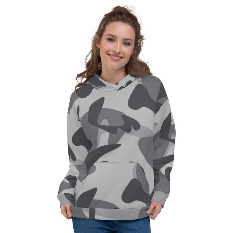 Army Camo Full Printed Unisex Hoodie