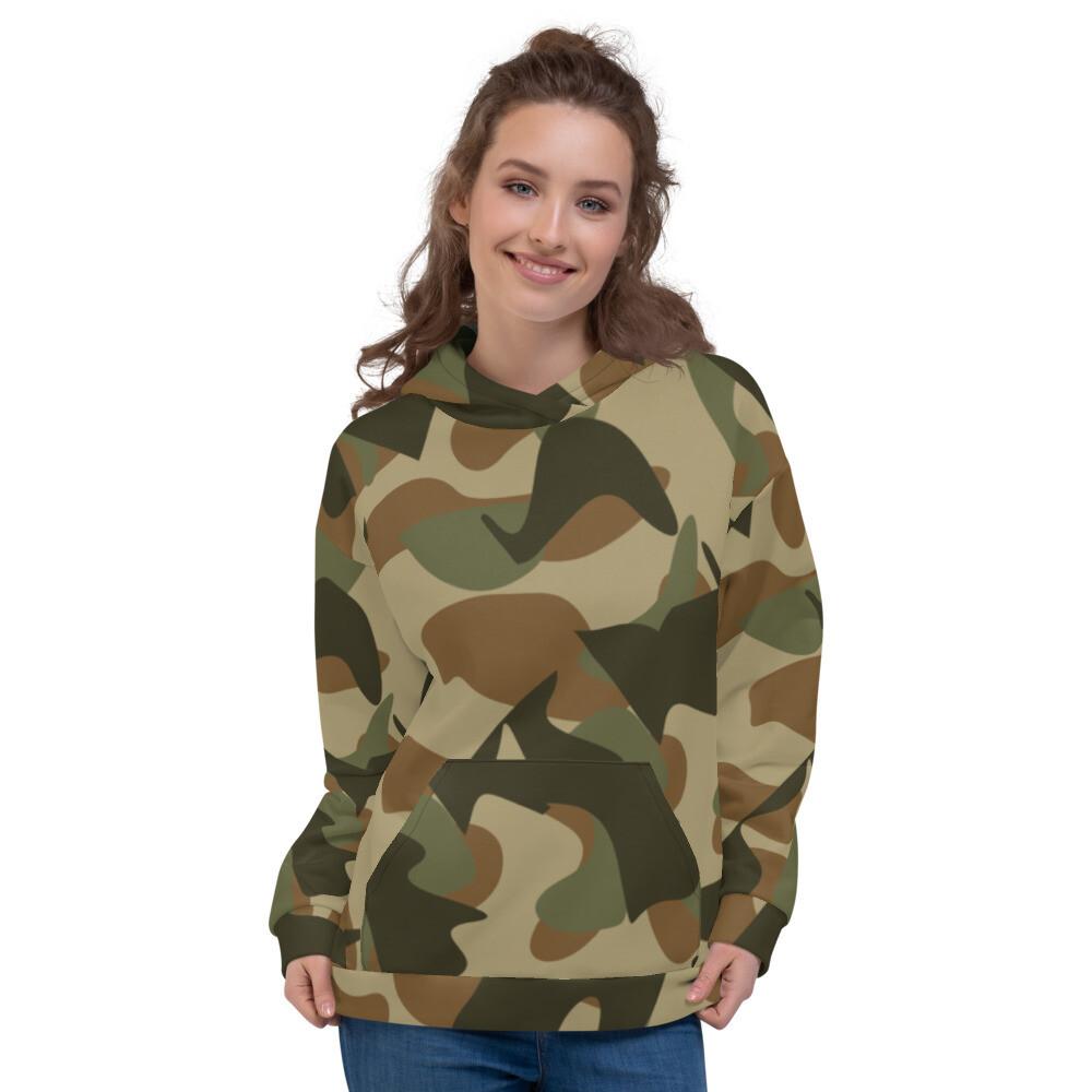 Camo Army Full Print Unisex Hoodie