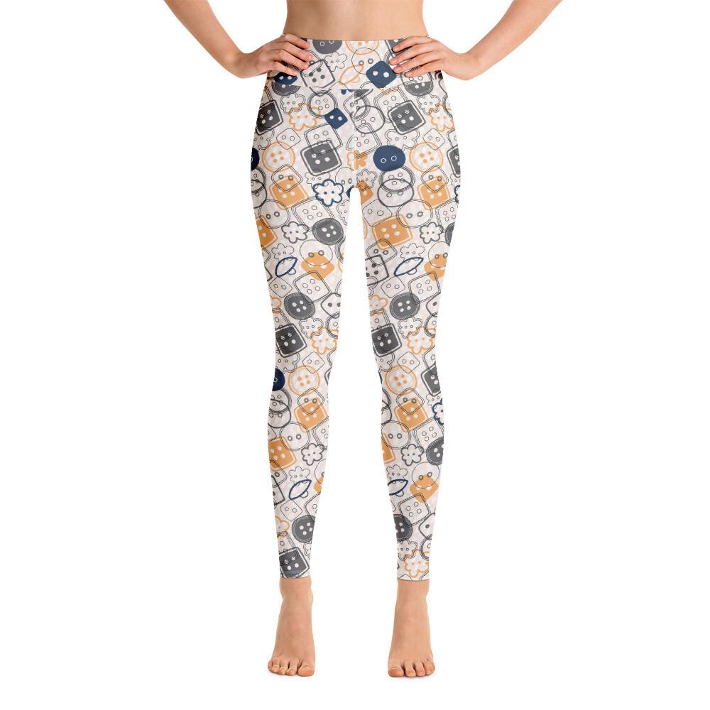 Mulip Full Printed Women Yoga Leggings