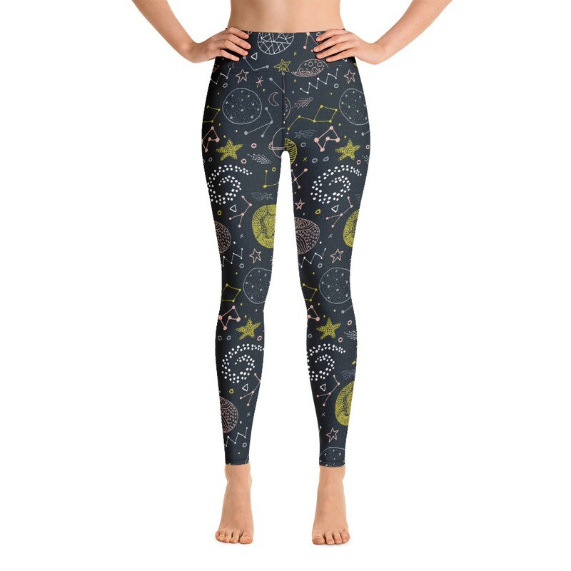 Pufi Pufi Full Printed Yoga Leggings