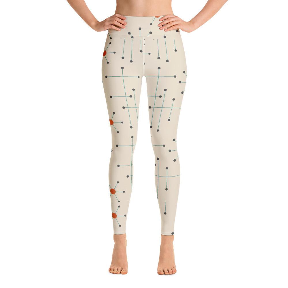 Kitasih Full Printed Yoga Leggings