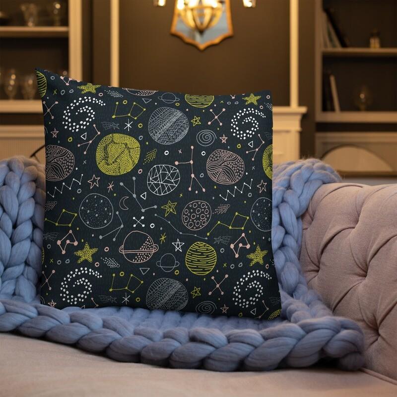Universe Printed Premium Pillow