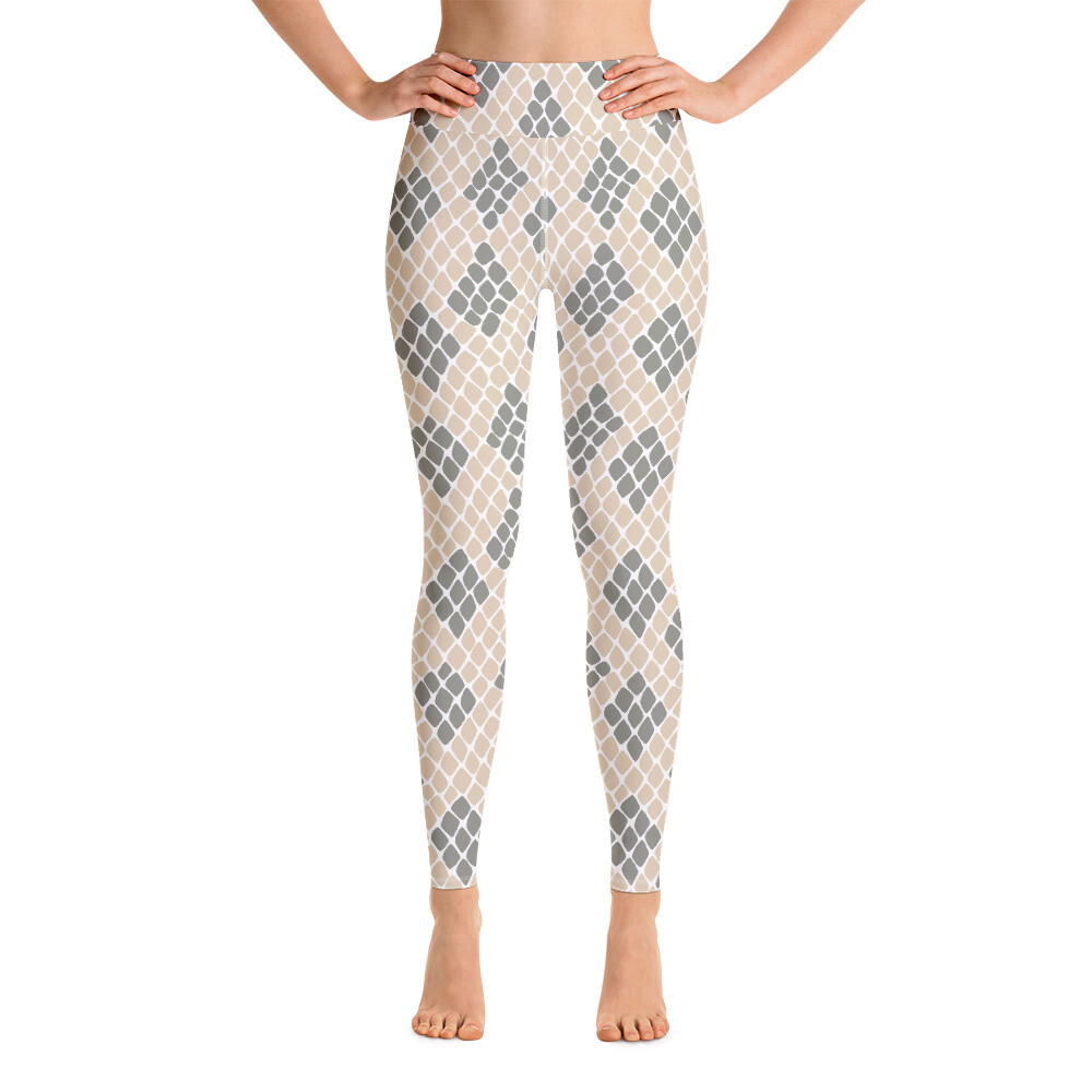 Snake Skin Full Printed Yoga Leggings