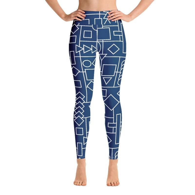 Pulo Printed Premium Yoga Leggings