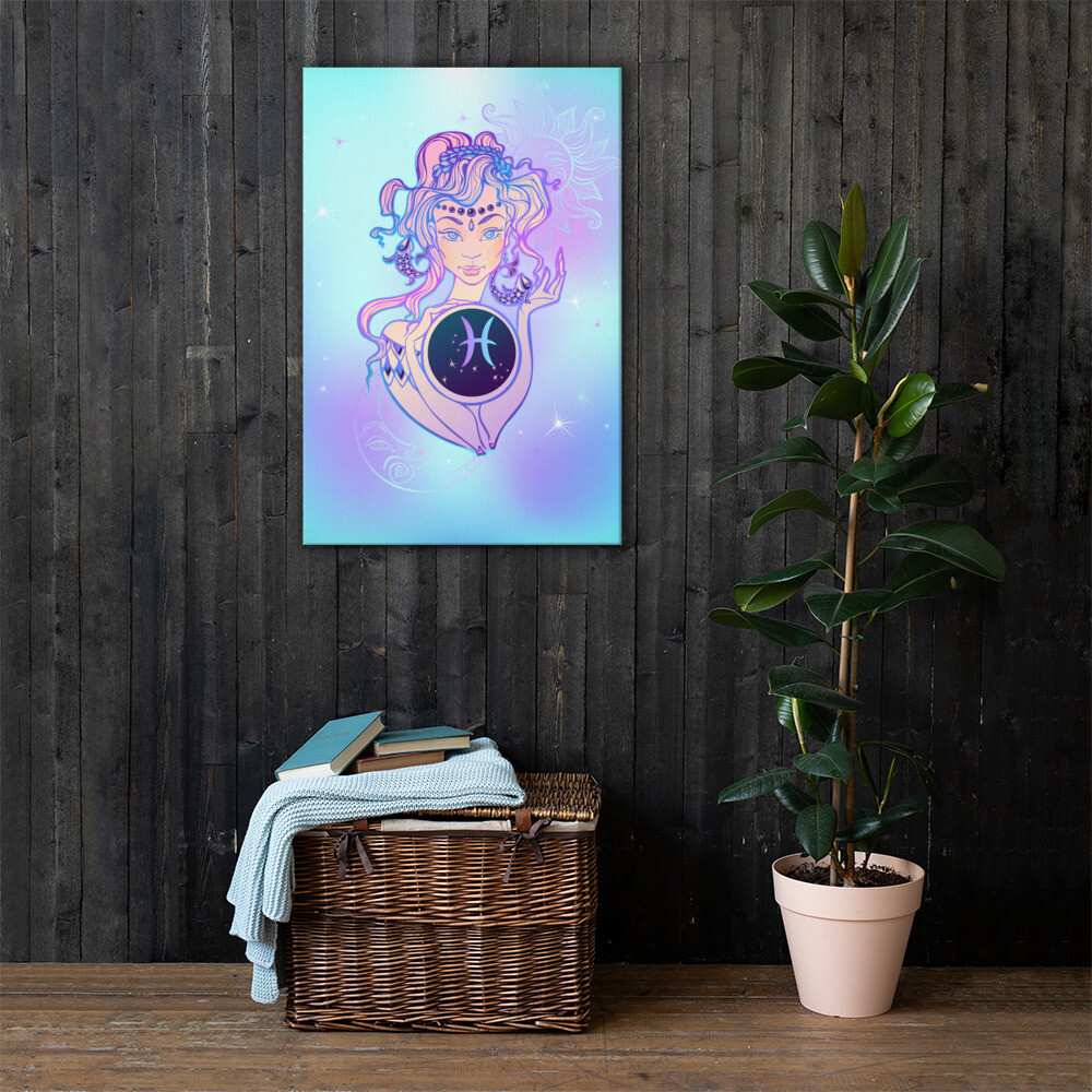 Pisces Printed Canvas