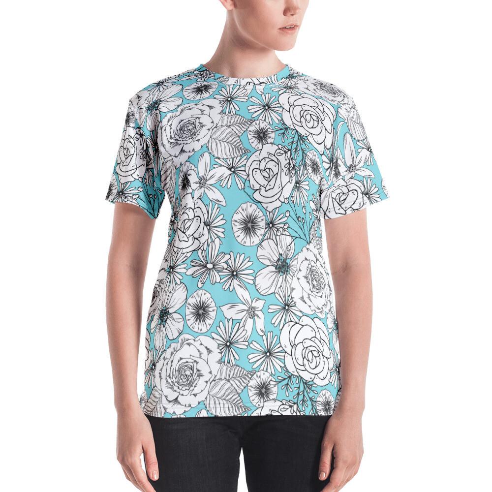 Kimila Full Printed Women's T-shirt