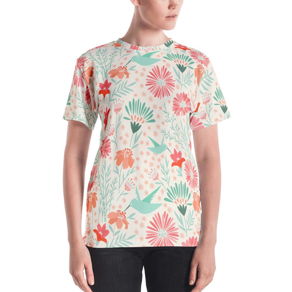 Birdi Full Printed Women's T-shirt