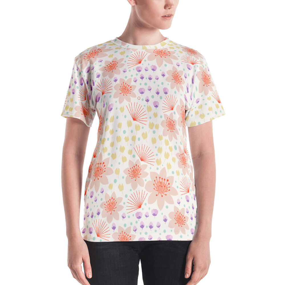 Misla Full Printed Women's T-shirt