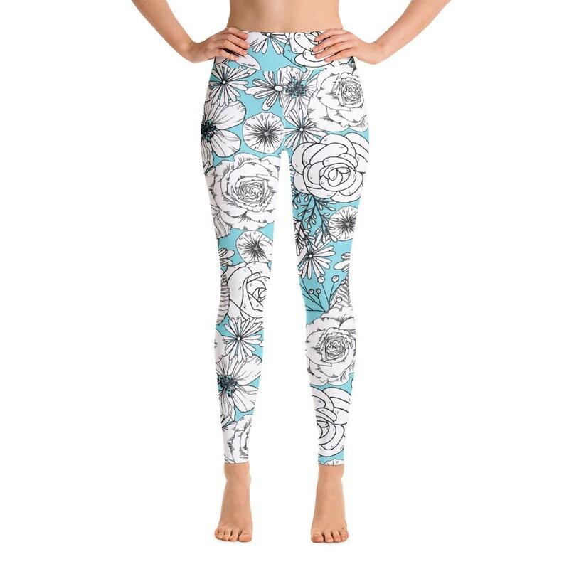 Rusha Full Printed Women's Yoga Leggings