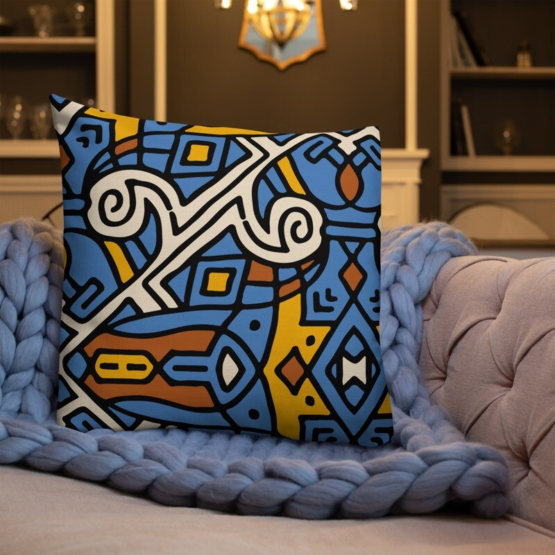 Hisab Full Printed Premium Pillow