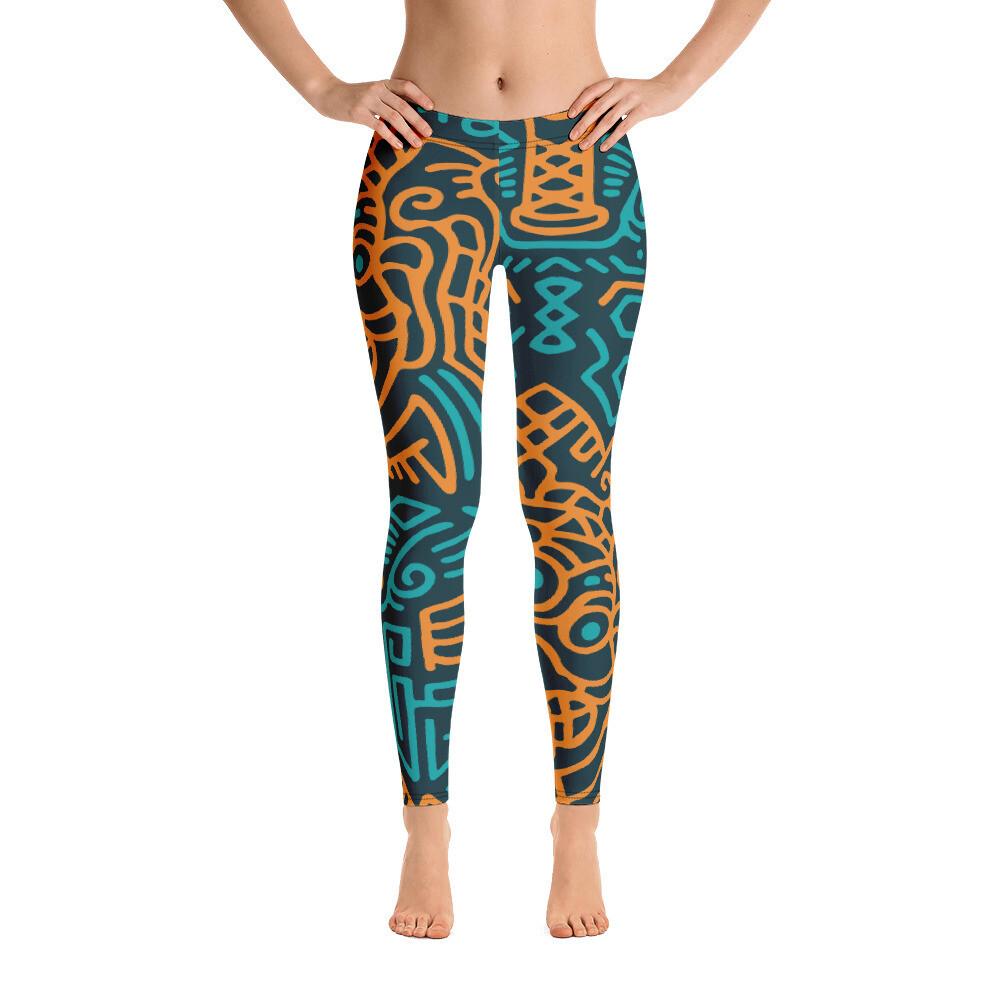 Dodi Full Printed Women's Leggings
