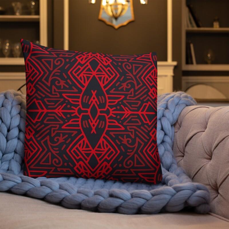 Ara Full Printed Premium Pillow