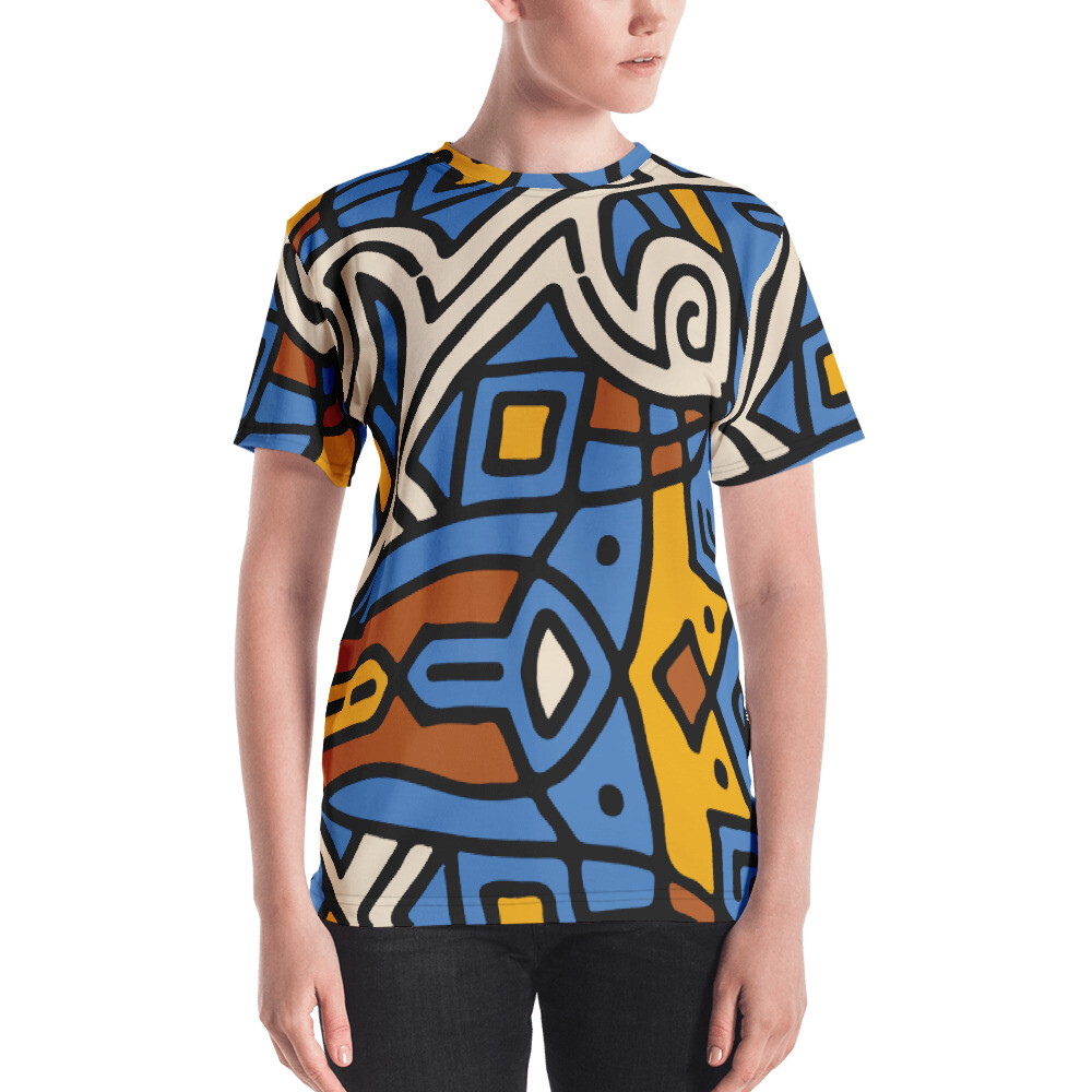 Tub Full Printed Women's T-shirt