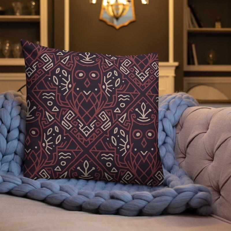 Ruda Full Printed Premium Pillow