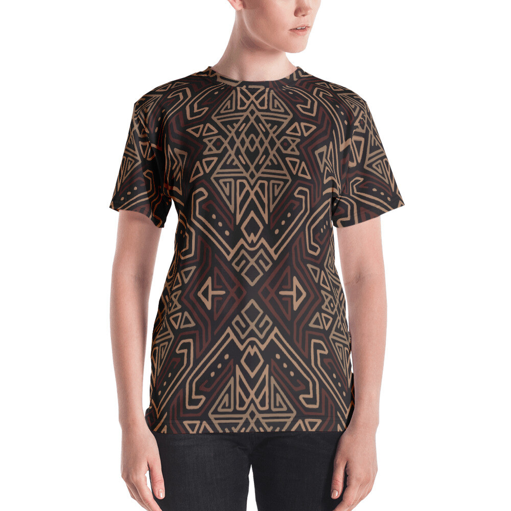 Puta Full Printed Women's T-shirt