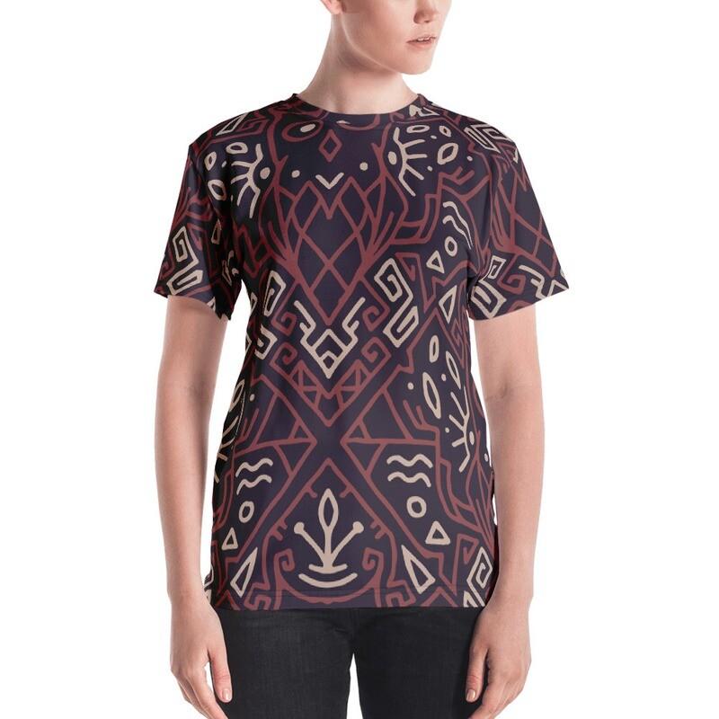 Ruda Full Printed Women's T-shirt