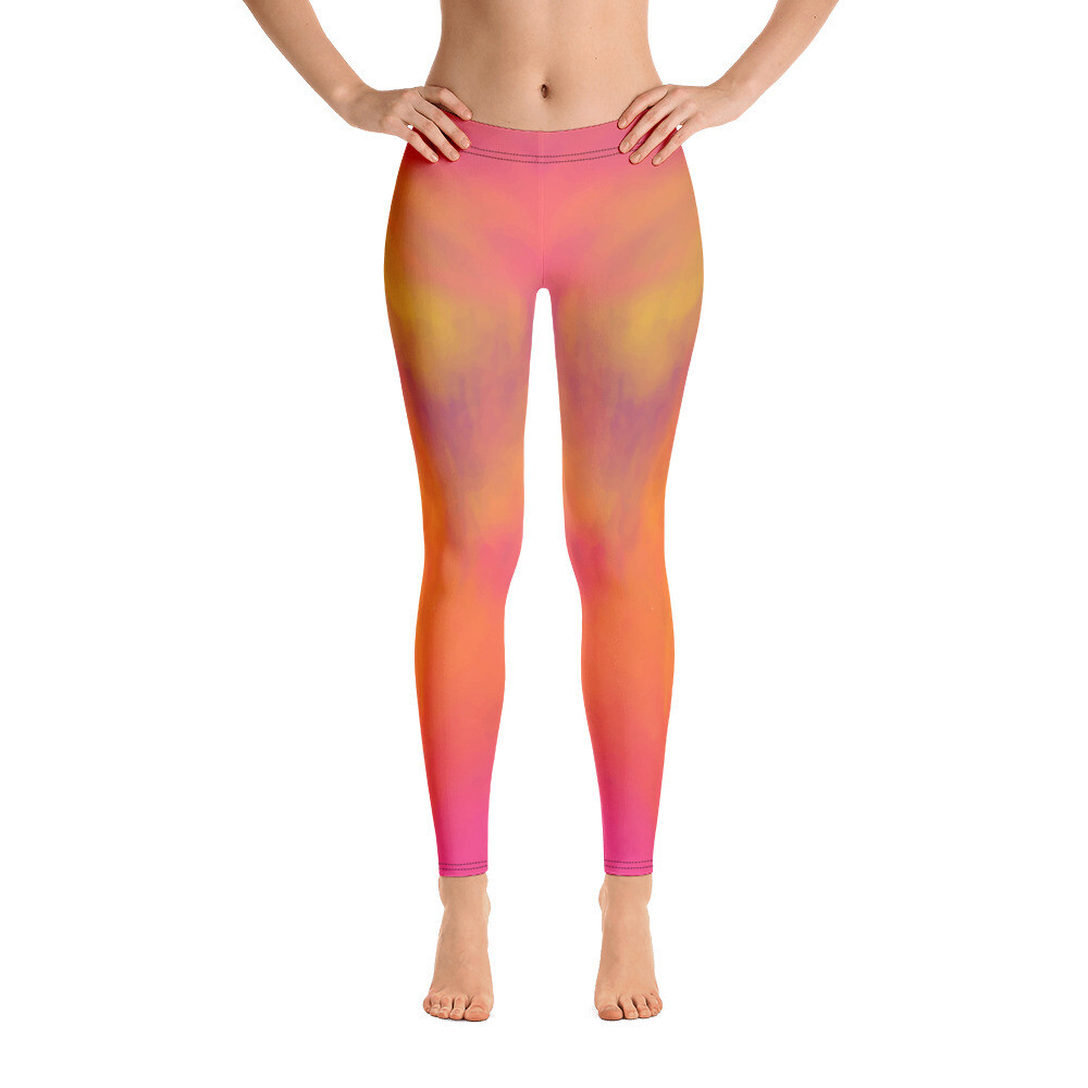 Huki Full Printed Women's Leggings