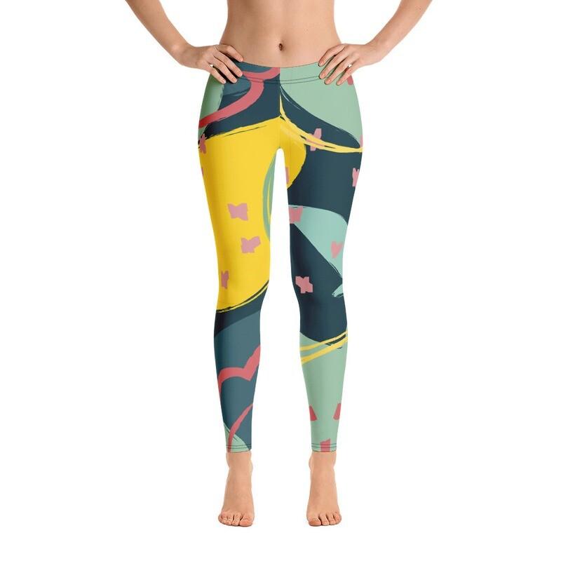 jJulia Full Printed Women's Leggings