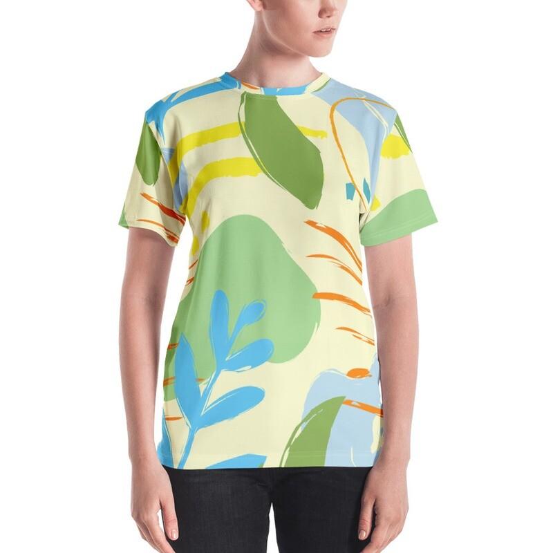 Kio Full Printed Women's T-shirt