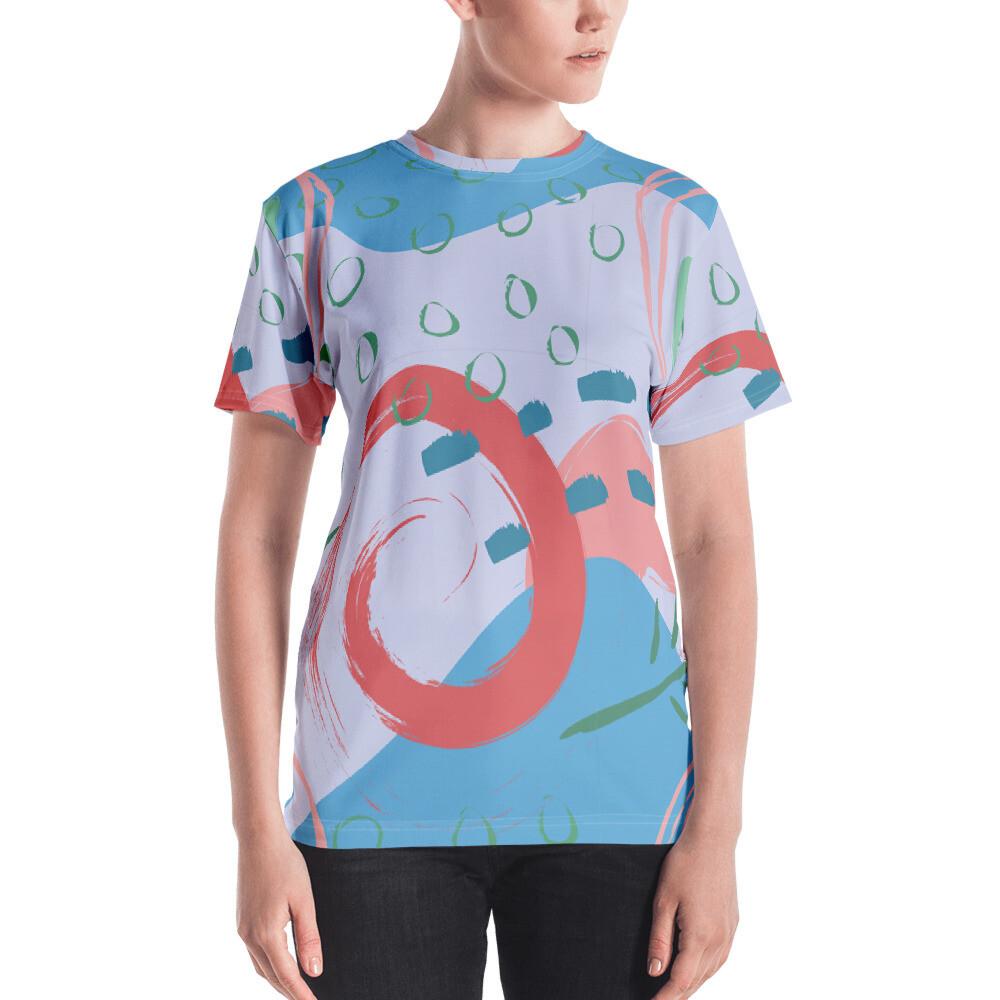 Rti Full Printed Women's T-shirt