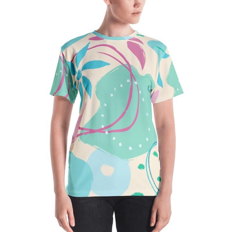 Rida Full Printed Women's T-shirt