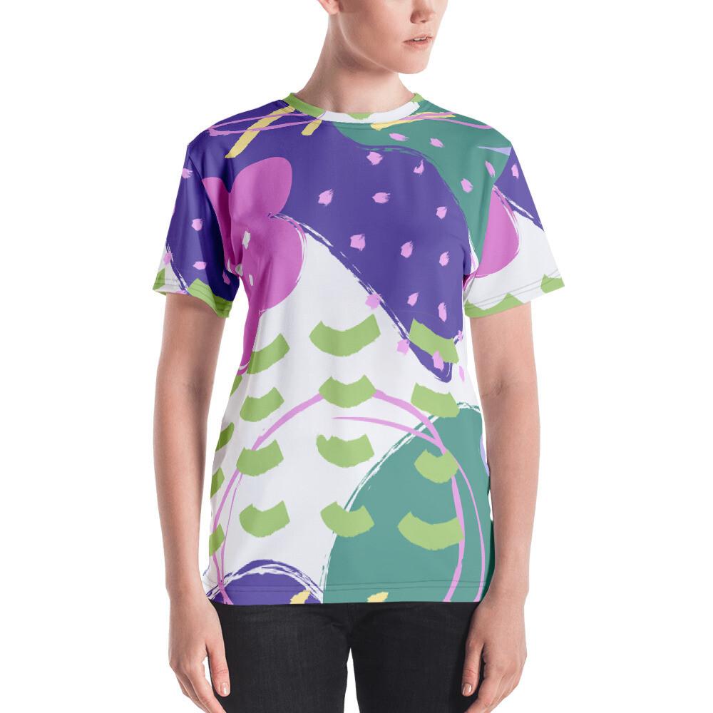Gui Full Printed Women's T-shirt