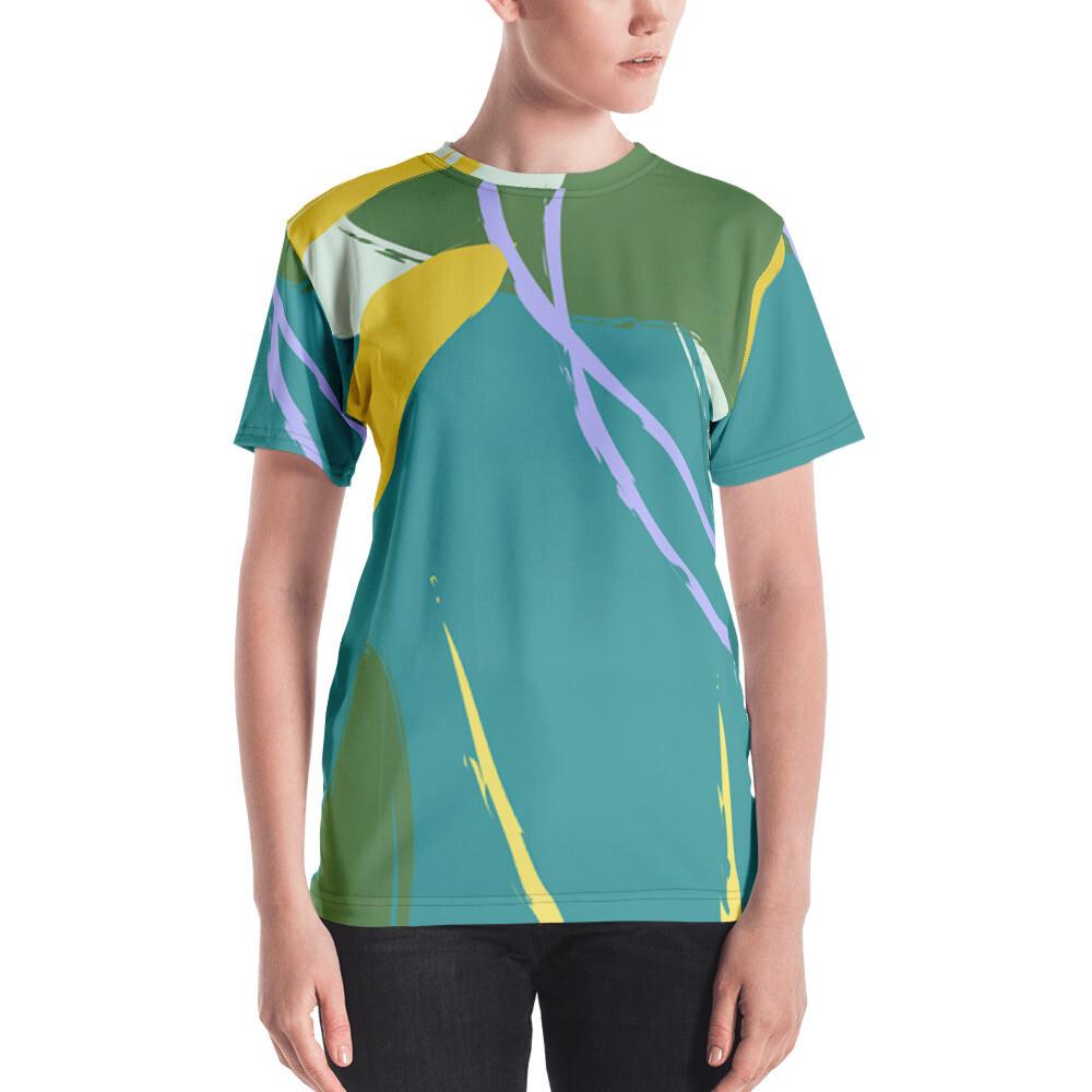 Kiki Full Printed Women's T-shirt