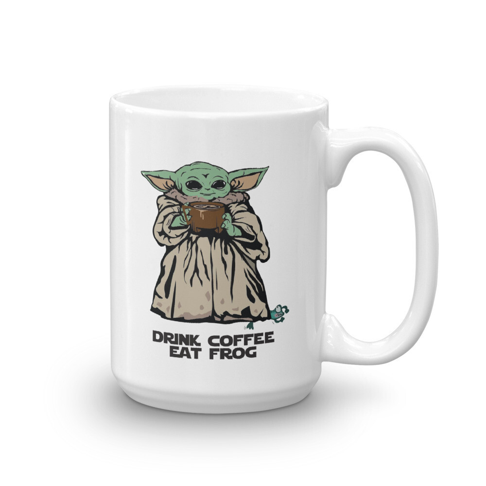 Drink Coffee eat Frog Mug