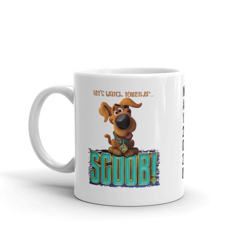 Let's Watch together SCOOB Mug