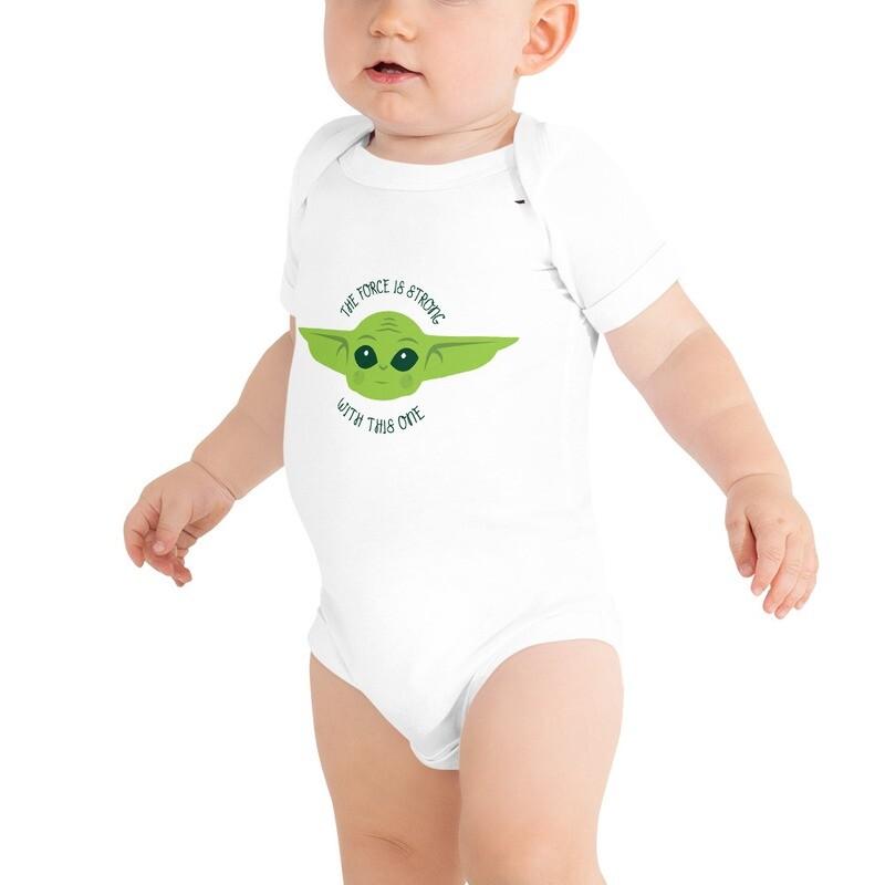 Baby Yoda Short sleeve baby T-Shirt