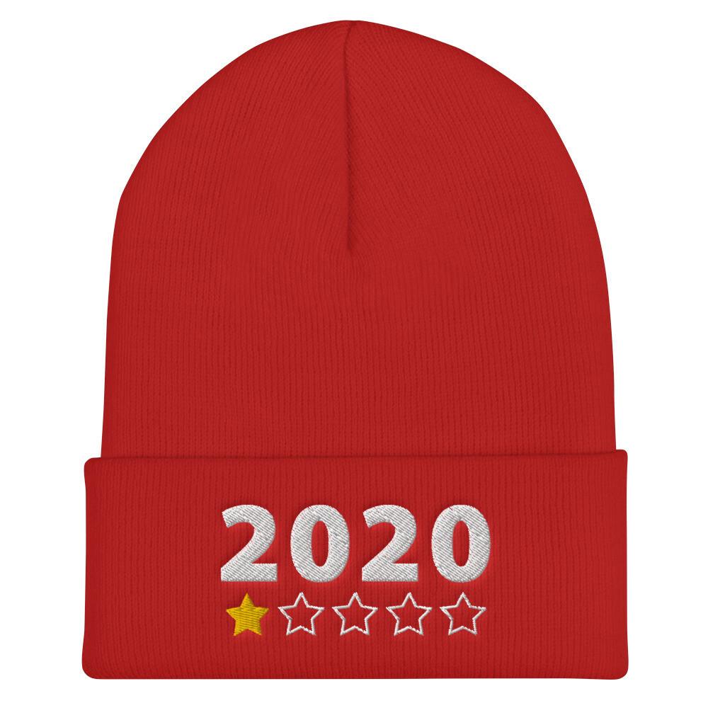 2020 review single star Cuffed Beanie
